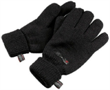 Eiger Knitted Glove Thinsulate Black